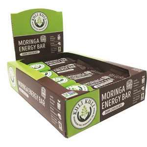 Kuli Kuli Moringa Energy Vegan Bar - Dark Chocolate - 12pk