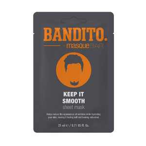 Bandito Keep It Smooth Face Mask Sheet - 0.71 fl oz