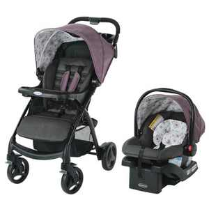 Graco Verb Click Connect Travel System with SnugRide Infant Car Sear - Gracie