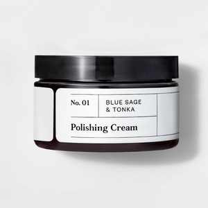 No. 01 Blue Sage & Tonka Polishing Cream - 4oz - Goodfellow & Co™