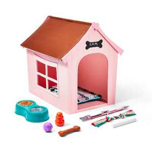 """Our Generation OG Puppy House Dog House Accessory Playset for 18"""" Dolls"""