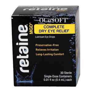 OCuSOFT Retaine Lubricant Eye Drops - 30ct