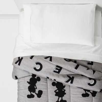 Mickey Mouse & Friends Mickey Mouse Twin Comforter Gray