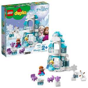 LEGO DUPLO Princess Frozen Ice Castle Toy Castle Building Set with Frozen Characters 10899