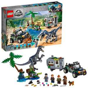 LEGO Jurassic World Baryonyx Face-Off: The Treasure Hunt Toy Dinosaur Building Kit 75935
