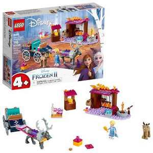 LEGO Disney Frozen II Elsa's Wagon Carriage Adventure Building Kit and Elsa Doll 41166