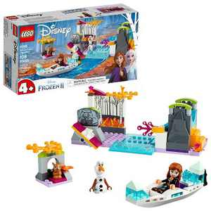 LEGO Disney Princess Frozen 2 Anna's Canoe Expedition Frozen Adventure Easy Building Kit 41165