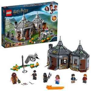 LEGO Harry Potter Hagrid's Hut: Buckbeak's Rescue Building Set with Hippogriff Figure 75947