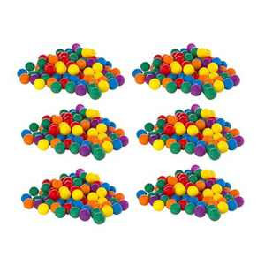 100-Pack Intex Small Plastic Multi-Colored Fun Ballz For A Ball Pit (6 Pack)