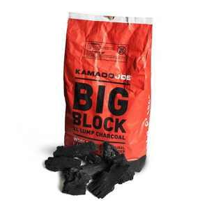 Kamado Joe All Natural Big Block Argentinian XL Premium Lump Charcoal, 20 Pounds