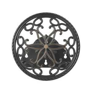 Liberty Garden LBG671 Aluminum Decorative Wall Mount Butler Garden Hose Reel