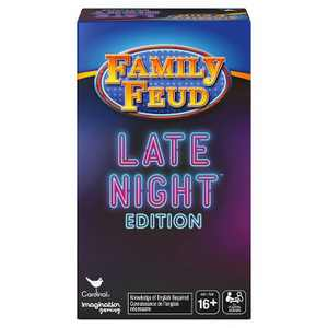 Family Feud Late Night Edition Board Game