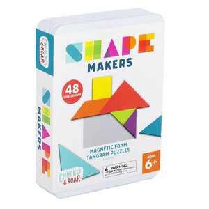 Chuckle & Roar Shape Makers Magnetic Foam Tangrams Game