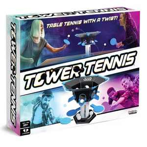 Buffalo Games Tower Tennis – Table Tennis With A Twist!