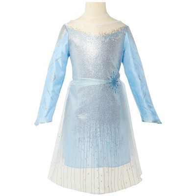 Disney Frozen 2 Feature Elsa Black Sea Dress