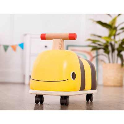 B. toys Wooden Bee Ride-On - Boom Buggy