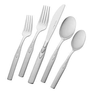 Henckels Rapture 45-pc 18/10 Stainless Steel Flatware Set