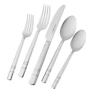 Henckels International Madison Square 65-pc 18/10 Stainless Steel Flatware Set
