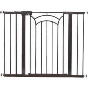 """Safety 1st Easy Install Tall & Wide Walk Through Baby Gate 29""""-47"""", Décor"""