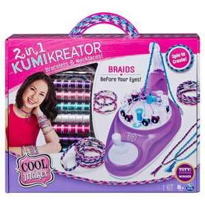 Cool Maker 2-in-1 Kumikreator Bracelets & Necklaces Kit