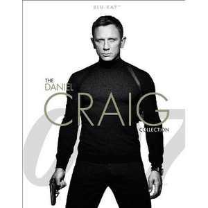 007: The Daniel Craig 4-Film Collection (Blu-ray)
