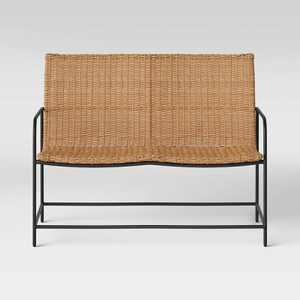Wexler Wicker Patio Loveseat Set - Natural - Project 62™