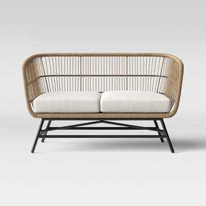 Martii Rattan Patio Loveseat - Brown - Project 62™