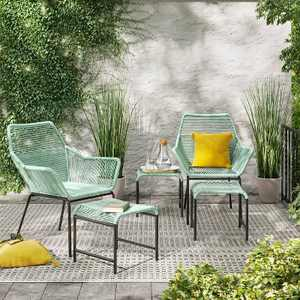 Sunmor 5pc Patio Chat Set - Green - Project 62™