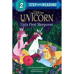 Uni's First Sleepover -  (Step Into Reading. Step 2) by Amy Krouse Rosenthal (Paperback)
