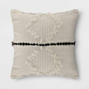 Woven Throw Pillow Cream - Threshold™
