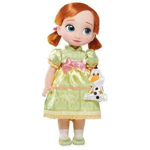 Disney Frozen 2 Animators Collection Anna Doll - Disney store