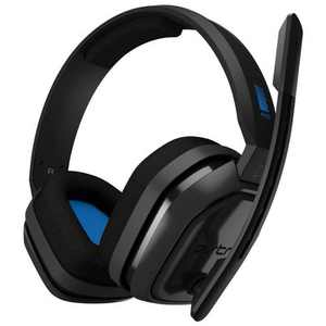 Astro Gaming A10 Wired Stereo Gaming Headset for PlayStation 5 and PlayStation 4 - Blue/Black