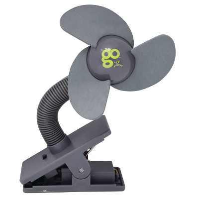 GO By Goldbug Portable Fan Stroller Accessory - Gray