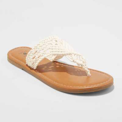 Women's Fia Crochet Flip Flops - Shade & Shore