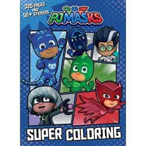 Pj Masks Super Coloring - by PJ Masks (Paperback)