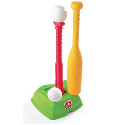 Step2 Toddler 2-in-1 T-Ball and Golf Indoor or Outdoor Learning Sports Play Set