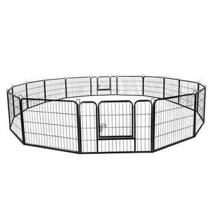 """Segawe ZENY 24""""H Heavy Duty Metal Dog Playpen, 16 Panels"""