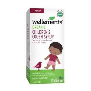Wellements Organic Children's Cough - 4 fl oz
