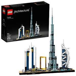 LEGO Architecture Skylines: Dubai Collectible Architecture Building Set 21052