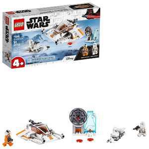 LEGO Star Wars Snowspeeder Starship Toy Building Kit 75268