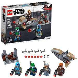LEGO Star Wars Mandalorian Battle Pack Shock Troopers and Speeder Bike Building Kit 75267