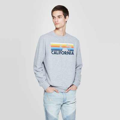 California Graphic Sweatshirt - Awake Gray