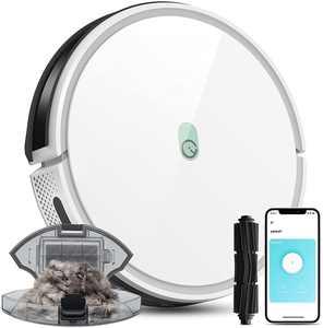 Yeedi K650 Robot Vacuum Cleaner 2000Pa Wi-Fi Robotic Pet Hair Smart App Voice Control
