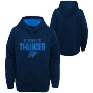 NBA Oklahoma City Thunder Boys' Jump Shot Raglan Performance Hoodie