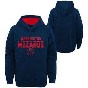 NBA Washington Wizards Boys' Jump Shot Raglan Performance Hoodie