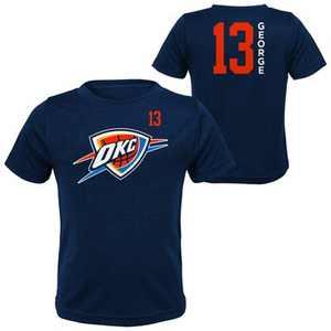 NBA Oklahoma City Thunder Boys' Paul George Performance T-Shirt