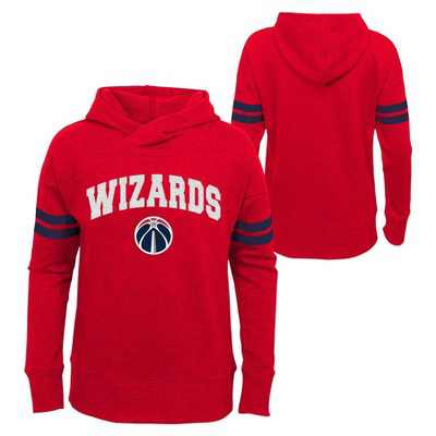 NBA Washington Wizards Girls' Post Up French Terry Hoodie