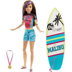 Barbie Sports Skipper Surfing Doll