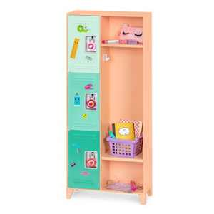 "Our Generation Classroom Cool School Locker Set for 18"" Dolls"