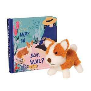 The Manhattan Toy Company Mini Corgi Stuffed Animal and Board Book Gift Set